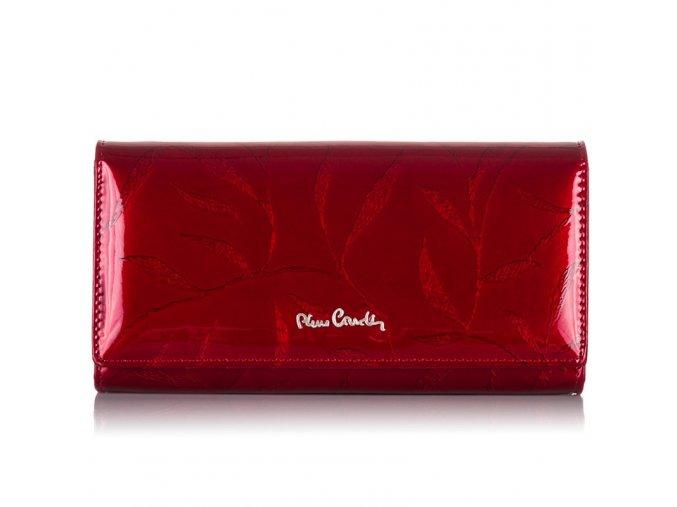 Dámská kožená peněženka Pierre Cardin 02 LEAF 106 červená ModexaStyl