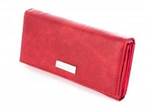 Dámská peněženka Jennifer Jones 1109 červená ModexaStyl (4)