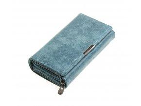 Dámská kožená peněženka modrá Jennifer Jones 11033 BE (3)