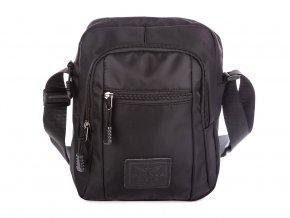 Pánská taška přes rameno černá 4074 Harolds
