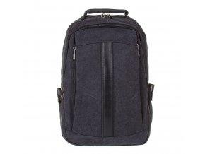 Velký batoh ze silné tkaniny Gil Bags 3002 01 černý (2)