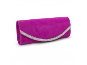 Večerní kabelka psaníčko fialová CA18083 PE (3)