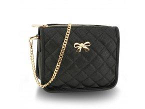 Malá kabelka přes rameno crossbody černá Anna Grace AG00598 BK (2)