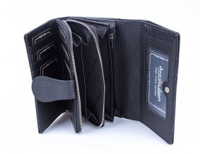 Dámská kožená peněženka Jennifer Jones 5275 černá (3)