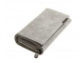 Dámská kožená peněženka šedá Jennifer Jones 11033 GY (4)
