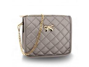 Malá kabelka přes rameno crossbody šedá Anna Grace AG00598 GY (2)