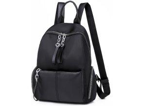 Dámský městský lehký batůžek černý Gil Bags 2036 ModexaStyl (2)