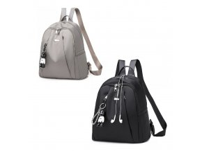 Dámský batůžek a kabelka 2v1 černý a šedý Gil Bags 2034 ModexaStyl (11)