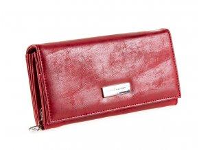 Dámská kožená peněženka červená Jennifer Jones 1109 7 červená ModexaStyl (2)