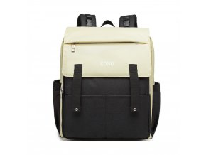 Přebalovací mateřský batoh nejen na kočárek KONO E1970 černý ModexaStyl (2)