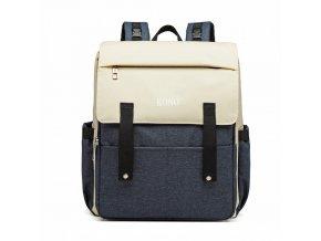 Přebalovací mateřský batoh nejen na kočárek KONO E1970 modrý ModexaStyl (2)