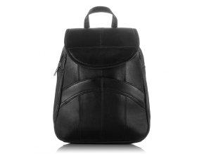 Dámský kožený batoh Abruzzo 168 černý ModexaStyl přírodní kůže (1)