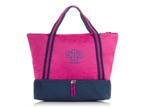 Velká dámská sportovní taška voděodolná Jennifer Jones 4425 růžová ModexaStyl (1)