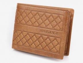 Pánská kožená peněženka černá J. JONES 5566 BN ModexaStyl (2)