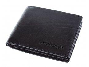 Pánská kožená peněženka modrá šedá J JONES 5682 ModexaStyl (1)
