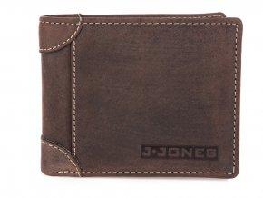 Pánská kožená peněženka J JONES hnědá 5334 BN ModexaStyl (2)