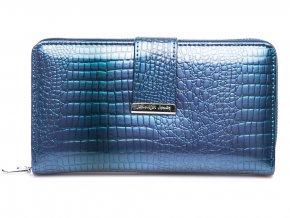 Dámská kožená peněženka Jennifer Jones 5280 modrá ModexaStyl (2)