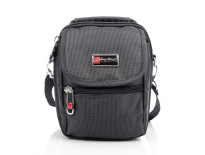 Malá pánská taška přes rameno Bag Street 2360 černá ModexaStyl (1)