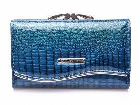Dámská kožená peněženka Jennifer Jones 5245 modrá ModexaStyl (2)