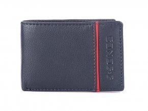Malá pánská kožená peněženka J.JONES 5318 modrá ModexaStyl (2)