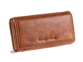 Dámská kožená peněženka Jennifer Jones 1108 hnědá ModexaStyl (2)