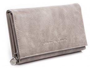 Dámská peněženka Jennifer Jones 1103 šedá světle ModexaStyl (3)