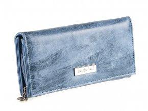 Dámská kožená peněženka červená Jennifer Jones 1109 7 modrá světle ModexaStyl (2)