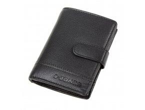 Pánská kožená peněženka J Jones 5314 černá ModexaStyl (4)