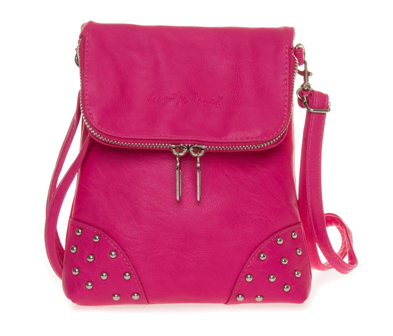 Malá crossbody kabelka přes rameno 3992 Barva: růžová