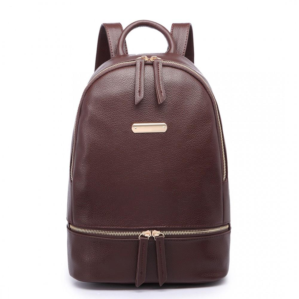 Dámský batoh LF6606 - tmavě hnědý 19499ea7d0
