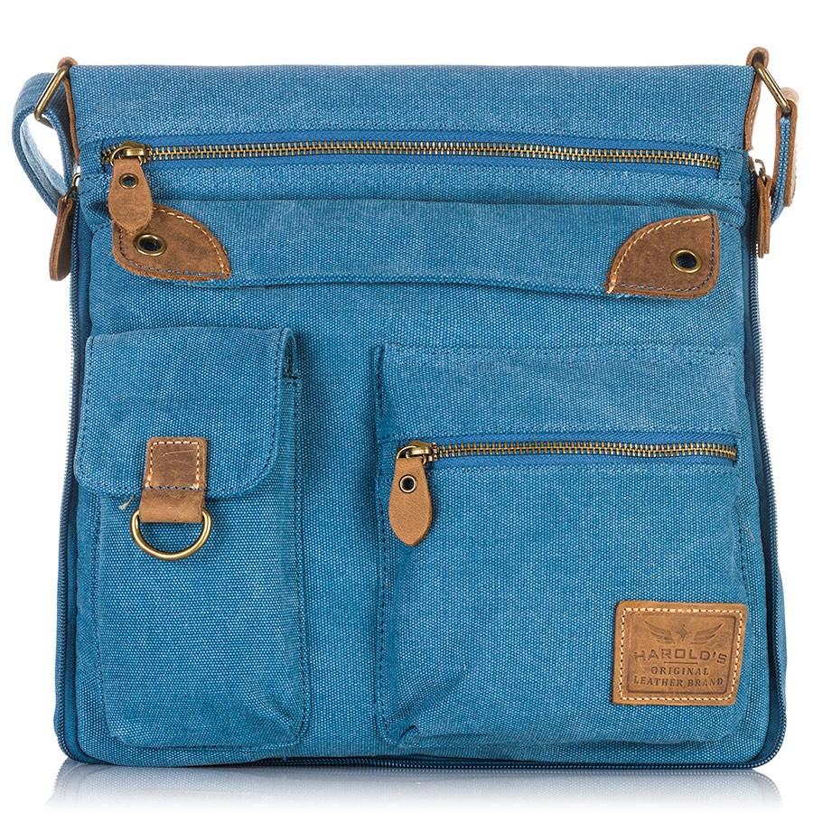 Pánská taška přes rameno - modrá