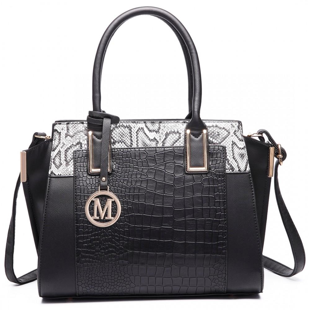 Elegantní kabelka do ruky LT6623 - černá