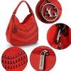 Kabelka přes rameno červená Anna Grace AG00554 (6)