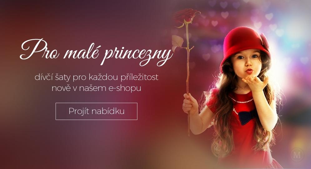 Společenské šaty pro malé princezny