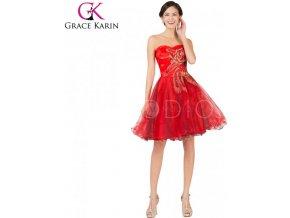 grace-karin-spolecenske-saty-kratke-cervene-gk7541