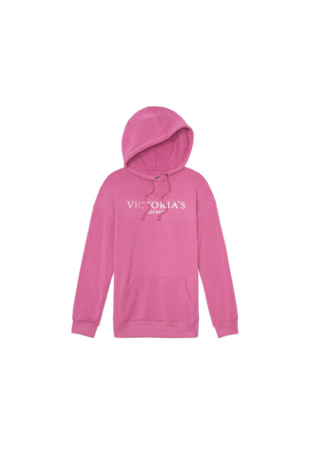 Victoria's Secret mikina s kapucí Fleece Pulover / Pink