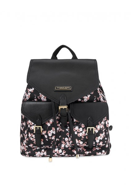 Batoh Victoria's Secret Getaway Travel Backpack / Midnight Rose