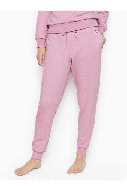 Victoria's Secret tepláky Fleece Jogger / Pink