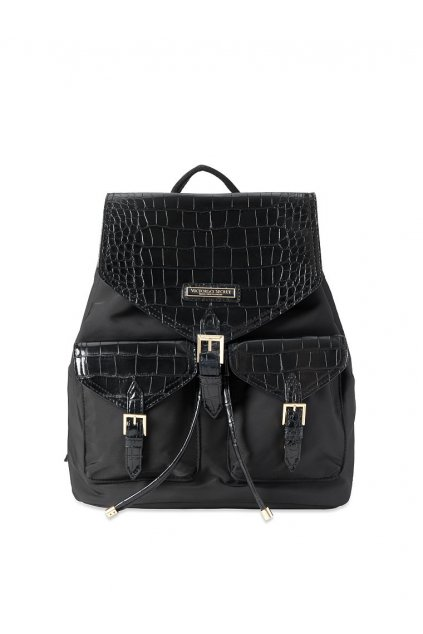 Batoh Victoria's Secret Getaway Travel Backpack / Midnight Croc