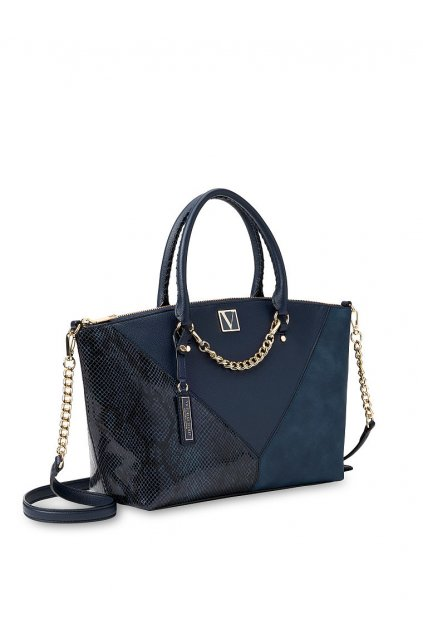Kabelka Victoria's Secret The Victoria Slouchy Satchel / Midnight Colorblock