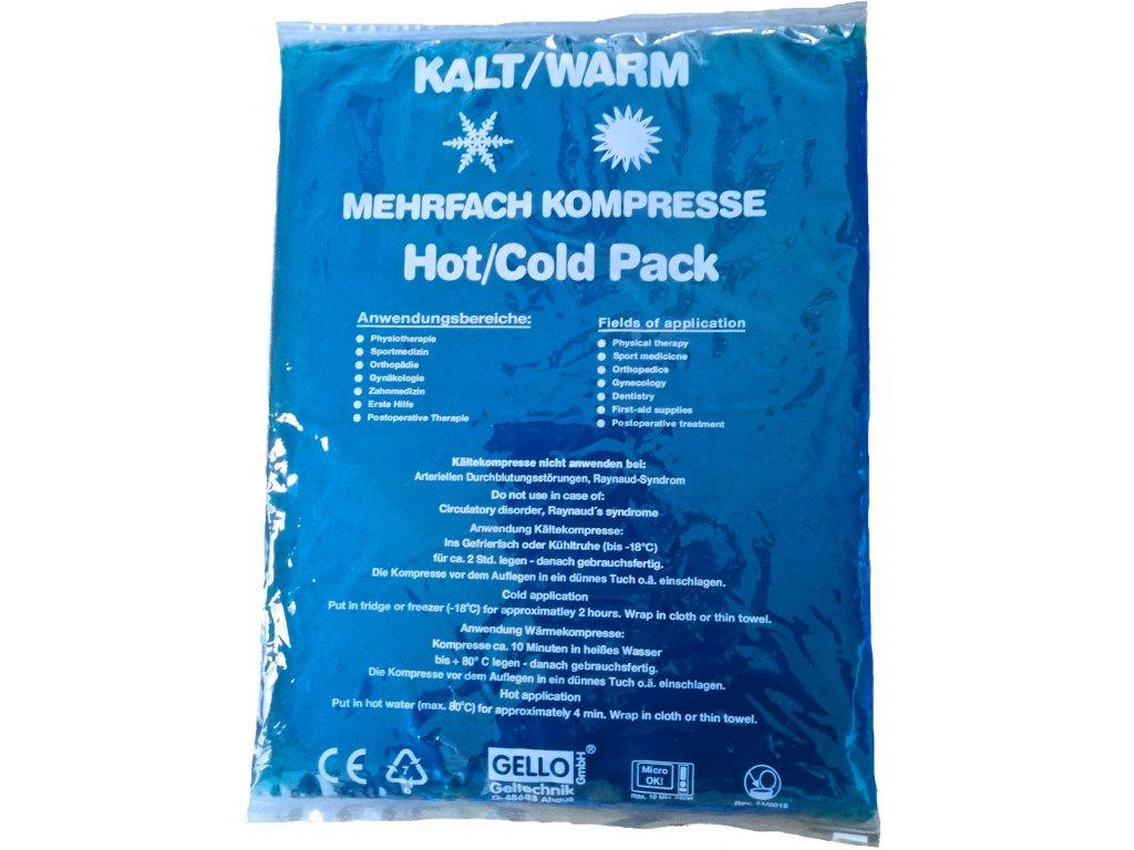 Chladivý/hřejivý gelový sáček 30 x 40 cm