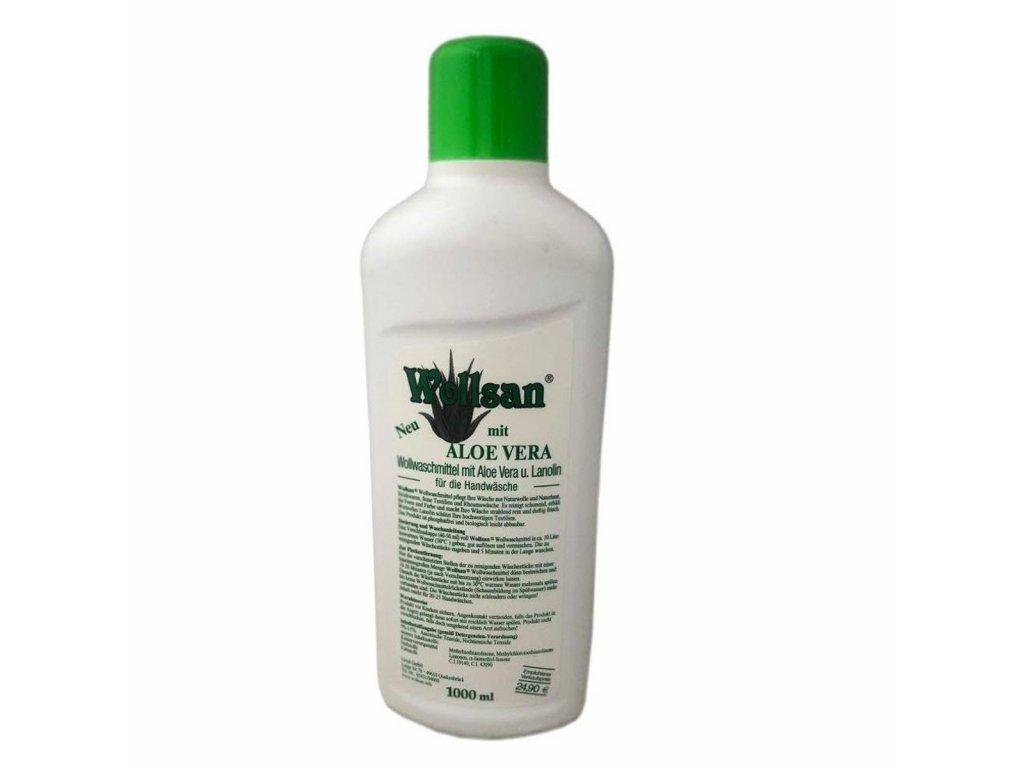 Šampon na vlnu s lanolinem Aloe vera 1 l