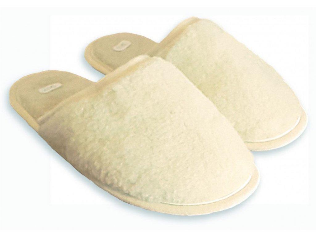 vlnene pantofle