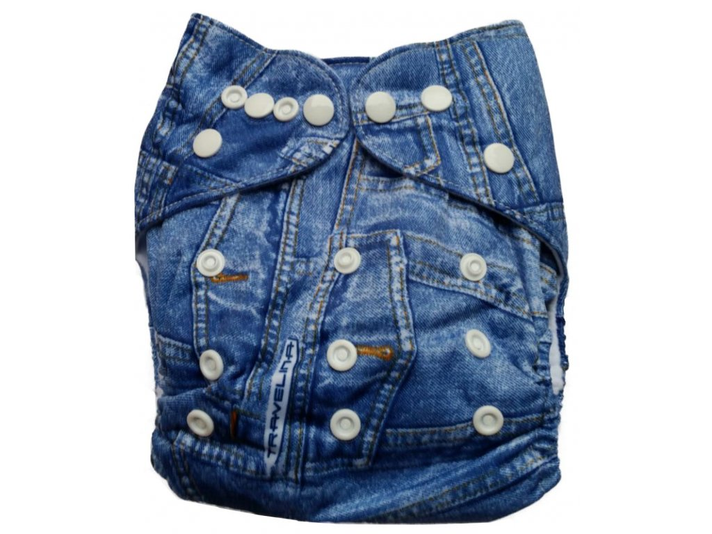 "Bambusové pleny vše v jednom ""universal jeans"""