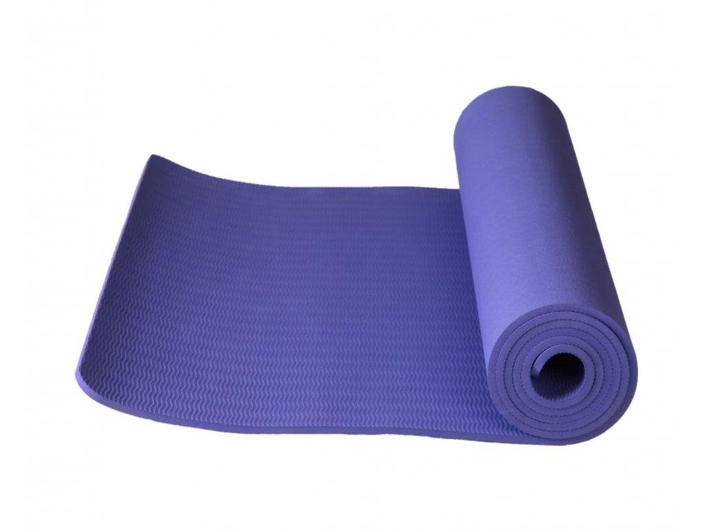 Podložka na cvičení YOGA fialová 6 mm