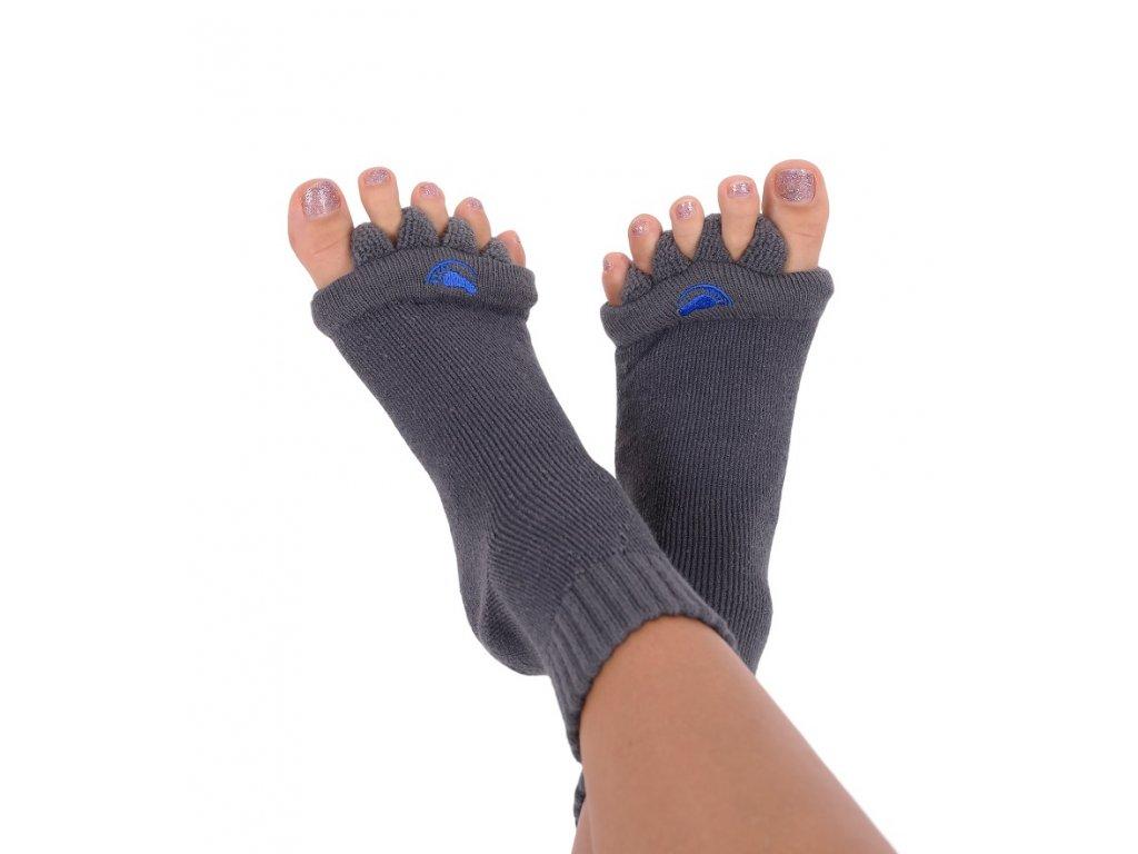 Adjustační ponožky Charcoal (Velikost L (vel. 43+))