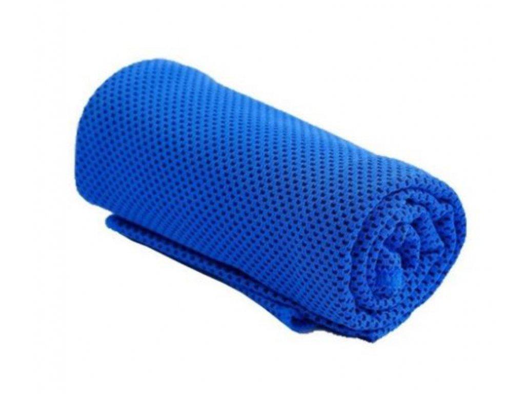 Chladící ručník tmavě modrý 32 x 90 cm