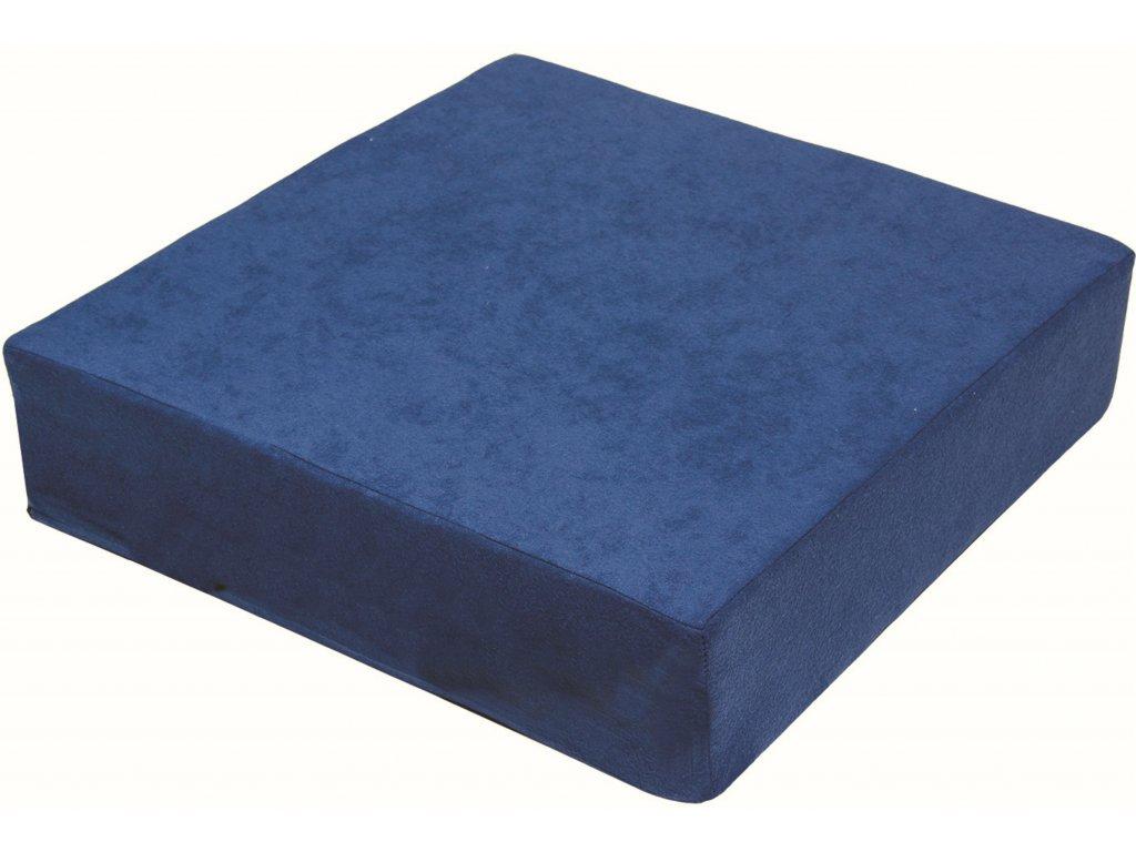 979 zvyseny sedak 40 x 40 x 10 cm modry