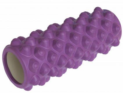 Fitness masážní válec 33 x 14 cm, fialový
