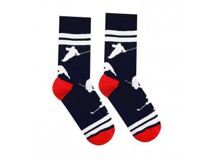 Veselé ponožky Hokejista